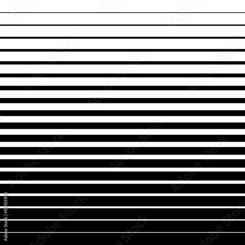 Halftone Lines Pattern. Halftone Background in Vector Canvas Print