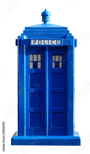 Photo Police Box cutout