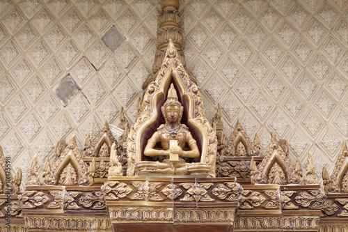 Papiers peints Retro Buddha background