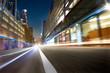 urban street landscape motion blur background