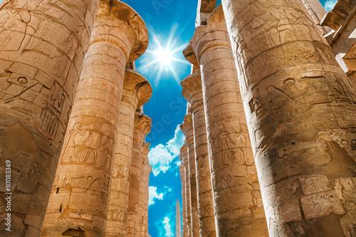 Poster Egypte Africa, Egypt, Luxor, Karnak temple