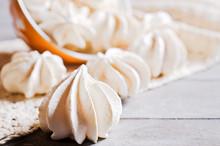 White Sweet Meringue