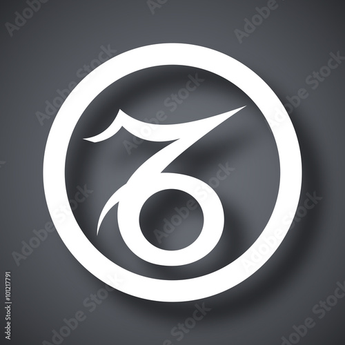 Vector Zodiac Sign Capricorn Buy This Stock Vector And Explore