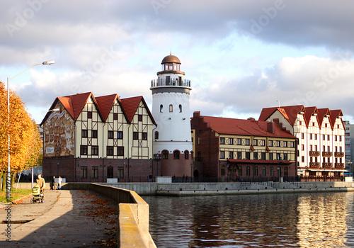 Fotografía  Калининград.Рыбная деревня.Осень.