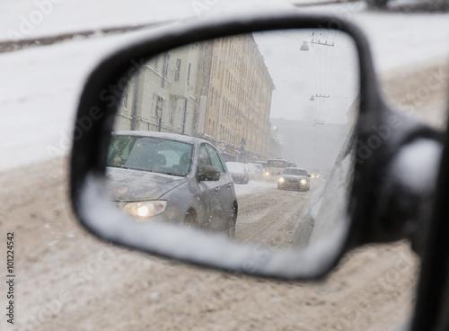 In de dag Noord Europa side mirrors