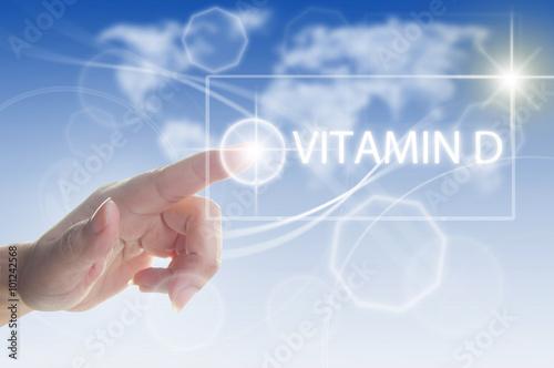 Fotografia  Vitamin D concept