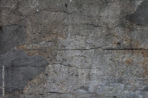 Poster Betonbehang broken concrete grunge texture