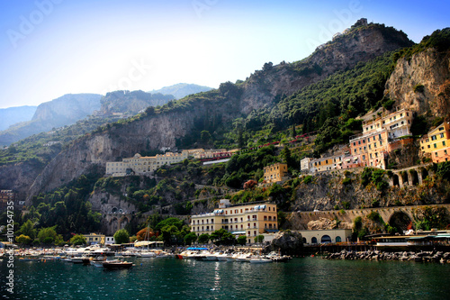 italian riviera scenery Poster