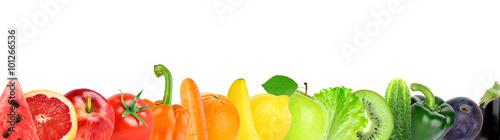 Poster Légumes frais Fruit and vegetable