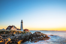 Portland Head Lighthouse At Fo...