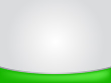 Gray Background With Green Bar For Presentation
