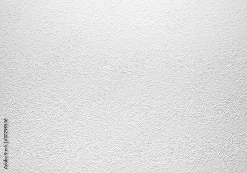 Foto op Plexiglas Wand Empty white concrete wall with plaster pattern