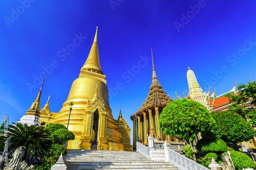 In de dag Bangkok Bangkok, Thailand. Wat Phra Kaew