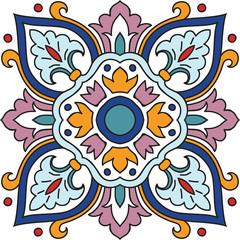 FototapetaVector beautiful seamless ornamental tile background.