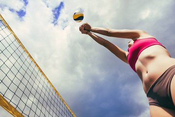 FototapetaBeach volleyball