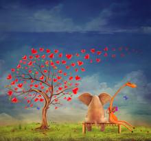 Tree  Of Hearts, Valentines Da...