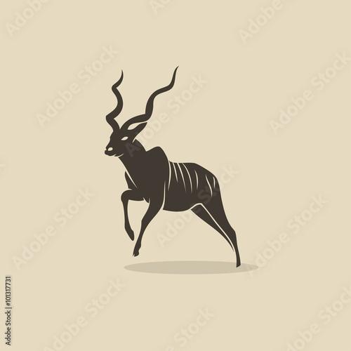 Kudu antelope Wallpaper Mural