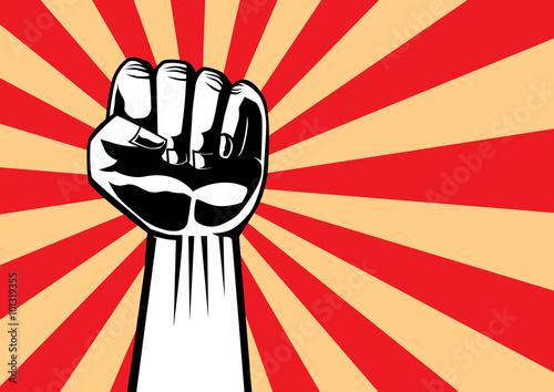 Valokuva Fist of revolution