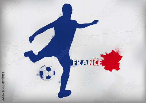 Foot France Graffiti