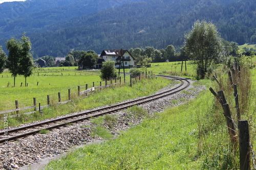 Tuinposter Wijngaard Von Sankt Lorenzen nach Marbach