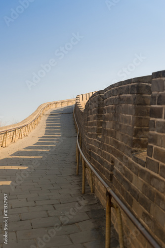 Papiers peints Muraille de Chine Corridor of the Great Wall of China