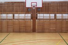 Retro Indoor Basketball Hoop