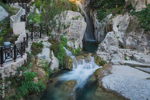 Algar Falls. Region Alicante. Spain
