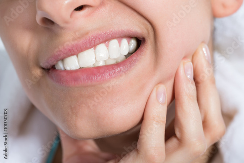 Fotografia  Woman Suffering From Toothache