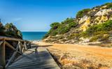 Fototapeta Fototapety z morzem do Twojej sypialni - Rompe Culo, Mazagon, Andaluzja, Hiszpania