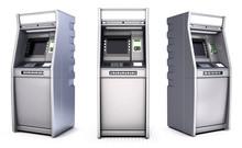 ATM Bank Cash Machine. Set. Is...