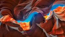 The Magic Antelope Canyon In T...