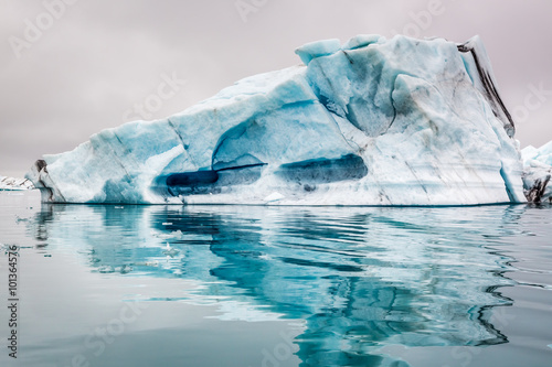 Poster Glaciers Stunning icebergs in Iceland