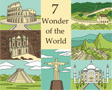 7 Wonders Of The World: Coloss...