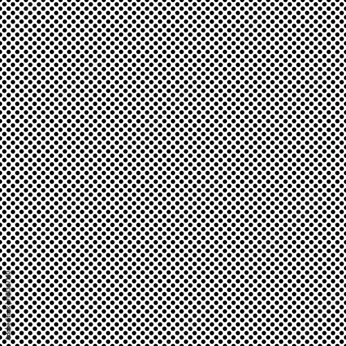 Halftone Dots Pattern. Halftone Background in Vector Canvas Print
