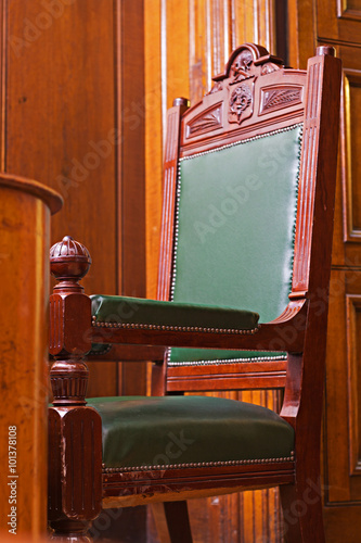 Fotografija  Crown Court Room dating from 1854