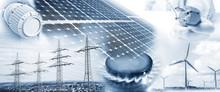 Energieversorgung Mit Strom Un...