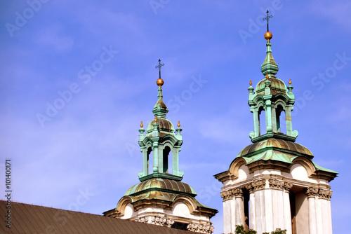 Krakau - Skalka-Kirche - Kirche auf dem Felsen Wallpaper Mural