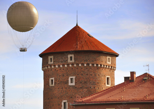 Photo Krakau - gotischer Sandomierska Turm