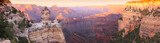 Fototapeta Landscape - Grand Canyon Sunset Panorama
