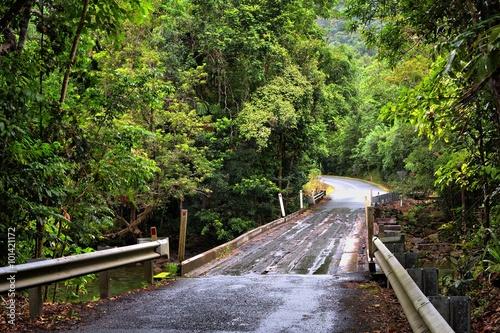 In de dag Kanaal traveling the Daintree National Park, Queensland, Australia