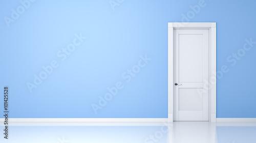 Fotografie, Obraz  wall and door