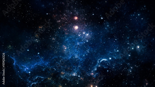 Stampa su Tela Space nebula. Elements of this image furnished by NASA