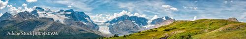 Spoed Foto op Canvas Canada Icefield Park Glacier view panorama