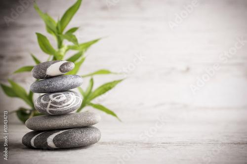 Türaufkleber Spa Spa stones.