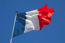 Fluttering French Flag
