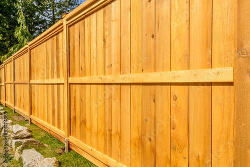 Fotografia wooden fence