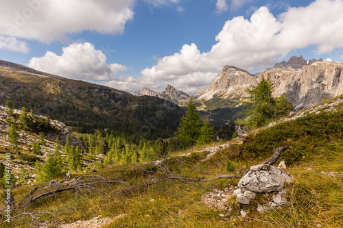 Fotografie, Obraz  Laguzoi z Passo Falzarego