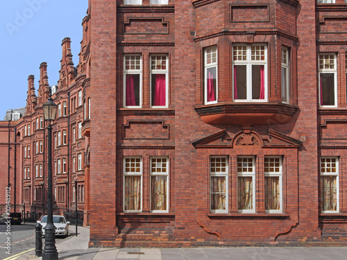 Victorian Style Apartment Building London