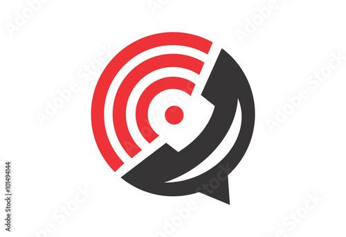 call center business abstract circle logo buy this stock vector and explore similar vectors at adobe stock adobe stock center business abstract circle logo