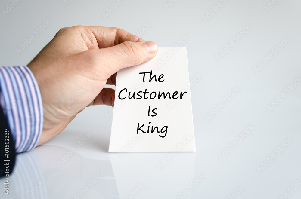 is the customer really king If the customer really was king then power would reside with those who are closest to the customer the old model of organization and societal structures is being.